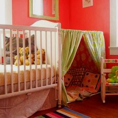 What a cute idea for an older child of you have siblings who share a room
