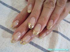 フレンチフラワーアートネイル #花柄ネイル #フレンチネイル #nail #nails