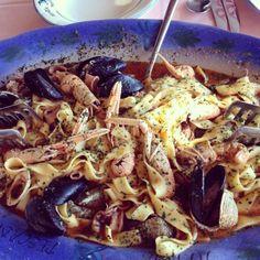 DOBAR TEK @ MartinPescador, Trget #Istria #Croatia #DasRezeptDesMonats http://www.istrien-pur.com/das-rezept-des-monats-istriens-koestliche-pasta-mit-meeresfruechten/ Foto: #IstrienPur