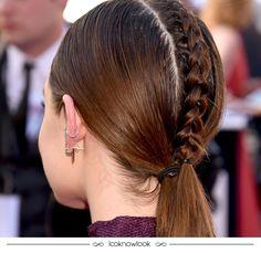 Lucy Hale no Billboard Awards. #billboard #lucyhale #cabelo #penteado #beleza #inspiração #hair #hairstyle #beauty #trança #braid #lnl #looknowlook