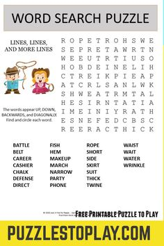 Free Word Search Puzzles, Free Printable Puzzles, Free Printable Coloring Pages, Free Printables, Crossword Puzzles, Kids Pages, Puzzle Books, Exercise For Kids, Love Words