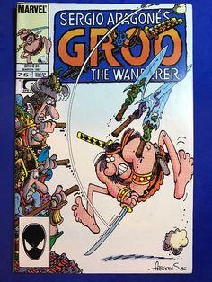 1987 Marvel GROO The WANDERER Series #25 Comics Book EPIC Jan. Sergio Aragone's