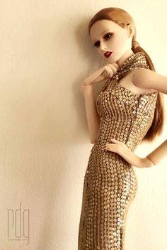 model / Coco @ www.rdgdoll.com wig / chewin  #rdg #rdgdoll #tbt #fashiondoll