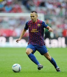Iniesta,an indispensible member of the Spanish National Football Team who play for Barcelona