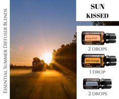 Essential Oil Mixtures, Essential Oil Diffuser Blends, Doterra Essential Oils, Doterra Grapefruit, Doterra Wild Orange, Roller Bottle Recipes, Doterra Diffuser, Aromatherapy Recipes, Natural Pain Relief