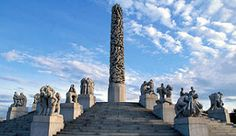Vigelandsparken Sculpture Park in Oslo, Norway - Photo: Nancy Bundt/VisitOslo
