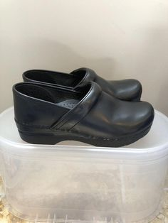 c9b70a38730e Extra Off Coupon So Cheap Dansko Black Leather Professional Clog Women Size  Eur 39 or US