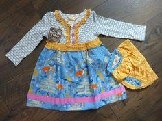 876cb8030 MATILDA JANE HEARTH & HOME DRESS & DIAPER COVER~NWT~SIZE 18/24 MONTHS~WOODLANDS  #MatildaJane #DressOutfit #DressyEveryday