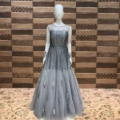 Majestic Grey Colour Net Gown    Celebrate every Festival with  our  Big FESTIVAL SALE   ♦️Shop at FESTIVAL LALGATE SURAT   ♦️ Upto 20% to 50% OFF on New arrivals   ♦️Lehanga choli , Gowns , Sarees   ♦️Dm us for product inquiry or to shop on video calling   ♦️Follow us @festival.india . . . . .  #Festival #Festivalindia #indianclothing #handwork  #bollywoodstyle #occasionwear #indiantradition #tradionalwear #bridalcouture #indianbride #threadwork #silk #indowestern #festive #festiveseason… Net Gowns, Thread Work, Occasion Wear, Bollywood Fashion, Indian Outfits, Gray Color, Saree, Silk, Celebrities