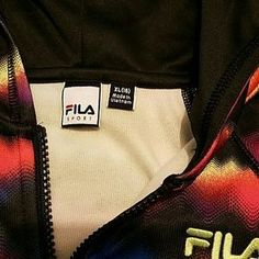 I just added this to my closet on Poshmark: FILA Sport multi-color hoodie Girls XL 16. Price: $18 Size: 16G
