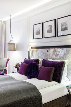 Separate quilts………on Scandinavian beds