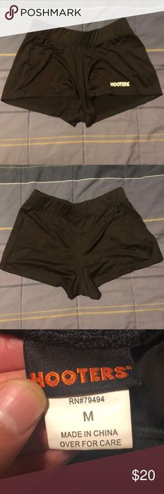 e30d0fa297386 Hot Hooters Waitress Uniform Shorts Black These were gently worn by a now  retired Hooters waitress