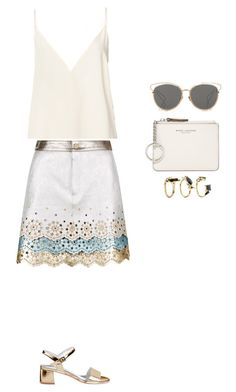 """""""Style #313"""" by maksimchuk-vika ❤ liked on Polyvore featuring Noir Jewelry, Christian Dior, Anine Bing and Marc Jacobs"""