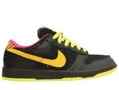 Nike Sb Dunk Low Premium 'Randy Colvin' Black / Yellow Ochre