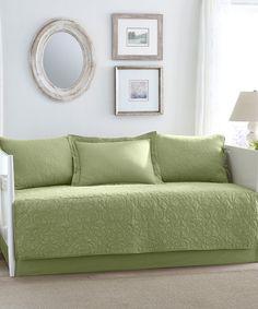 Green Felicity Daybed Comforter Set #zulilyfinds