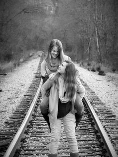 i can imagine us doing this and running for our lives when a train comes along @Krupa Thimmaiah Patel