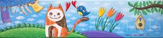 raffaelladivaio*illustrazione e creatività: SOLO PER TE. circondatevi di persone che siano felici nel sapervi felici, e siano presenti per abbracciarvi quando siete tristi. SONO QUI PER TE. acrilico su tavola di legno di recupero, cm. 11x47,5, sp. cm. 2. ©raffaelladivaio.com2016