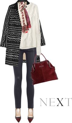 """""""Scarf by PIERRE-LOUIS MASCIA"""" by fashionmonkey1 ❤ liked on Polyvore"""