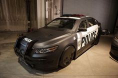 Ford Taurus Police Car 1. This could only belong to one person! Hit the image to see who...