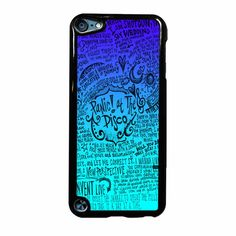 Panic At The Disco Lyric Quotes iPod Touch 5 Case
