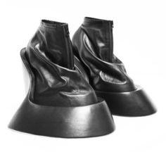 Future, Futuristic, Shoes, Avant-Garde Fashion, Birth Life Death and Resurrection by Benjamin John Hall by FuturisticNews.com