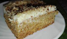 "Ananasový koláč ""Orgasmus"" | recept na skvělý koláč s ananasem Vanilla Cake, Banana Bread, Deserts, Dessert Recipes, Food And Drink, Ethnic Recipes, 3d, Hampers, Pineapple"