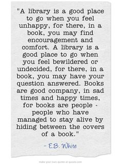 a library.....