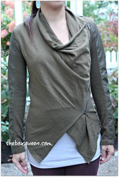 Asymmetrical, zippers, looks like it belongs in a dystopian movie...I'm sold.