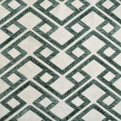 Greenhouse Fabrics, Geometric Fabric, Green Fabric, Pattern, Color, Design, Patterns, Colour, Model