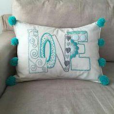 bordado mexicano paso a paso ile ilgili görsel sonucu Diy Pillows, Decorative Pillows, Cushions, Throw Pillows, Ribbon Embroidery, Embroidery Stitches, Embroidery Patterns, Mexican Embroidery, Sewing Crafts