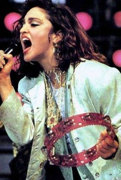 OMG - I remember seeing her there Madonna performing Live Aid