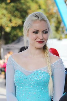 Georgina Haig on the set of Once Upon A Time - October 9, 2014