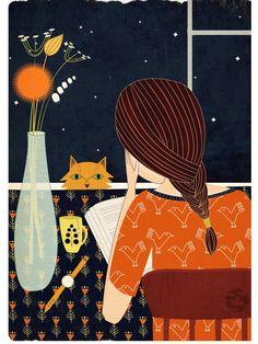 The night by lidiatomashevskaya on Etsy