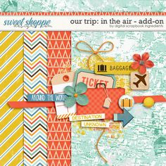 Free Our Trip: In The Air Add-On by Digital Scrapbook Ingredients {store checkout required}