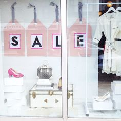 our new summer sale window!