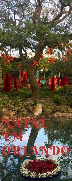 O Natal em Orlando é sempre mágico. #Orlando #NatalnosEUA #SeaWorld #NatalemOrlando