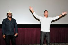 Jocko Sims and Kevin Michael Martin attend TNT's 'The Last Ship' USO screening at Reading Cinemas Gaslamp 15 on June 15, 2015 in San Diego, California. 25590_001