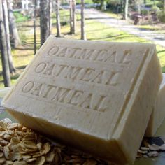 Handmade Soap: Apply Your Oatmeal Soap - 30 Days of Beauty Beer Soap, Soap Bar, Soap For Sensitive Skin, Oatmeal Soap, Oatmeal Bath, Unscented Soap, Mango Fruit, Moisturizer For Oily Skin