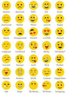 Make your own dry-erase emoji decal!