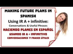 Talking about Future Plans in Spanish: IR A + Infinitive - SpanishLearningLab