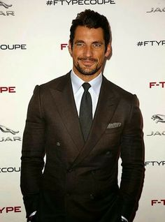 David Gandy at the Jaguar f type coupe launch | november 20, 2013