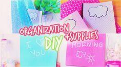 Back To School: DIY Organization + Supplies!