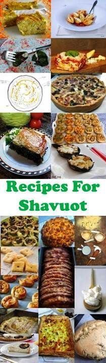 Best Bloggers In Israel Made Recipes for Shavuot