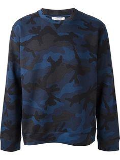 Valentino Camouflage Sweatshirt - Luisa World - Farfetch.com