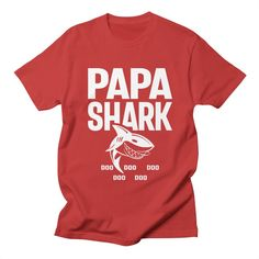 Makes a great gift for dad, daddy, papa or father. Check our brand to get shark doo doo tee for grandp Funny Fathers Day Gifts, Fathers Day Shirts, Dad To Be Shirts, Happy Fathers Day, Family Shirts, Happy Father's Day Husband, Daddy Day, Big Daddy, Great Gifts For Dad