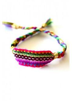 Friendship bracelet made in Peru, Shamaz, 26 €