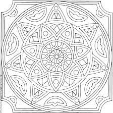 coloring pages islamic patterns drawing - photo#9