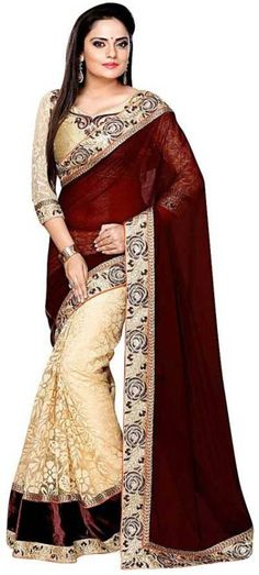 Flipkart Deal Of The Day !!! #Flipkart #Amazon #shopping #Fashion  Shree Creation Embroidered Bollywood Net Saree  (Brown)  M.R.P. :    ₹1599 Deal Price: ₹687 Save Price: ₹912 (57%)  https://stealdeals.io/deal-details.php?title=Shree-Creation-Embroidered-Bollywood-Net-Saree--(Brown)&id=5235