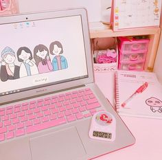 ✧‧˚ softie nail stamping moyou - Nail Stamping Korean Aesthetic, Aesthetic Colors, Aesthetic Pastel, Study Room Decor, Kawaii Room, Study Space, Study Desk, Gamer Room, Studyblr