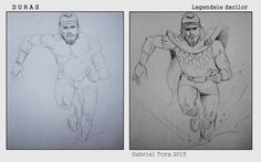 comic frame dacian running from Legends of the Dacians Legendele Dacilor tora anatomy runner